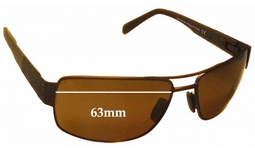Maui Jim Ohia MJ703 Replacement Sunglass Lenses - 63mm Wide