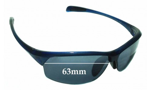 Maui Jim River Jetty MJ430 Replacement Sunglass Lenses - 63mm wide
