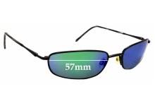a62310513645 Sunglass Fix Replacement Lenses for Maui Jim South Shore MJ115 - 57mm Wide