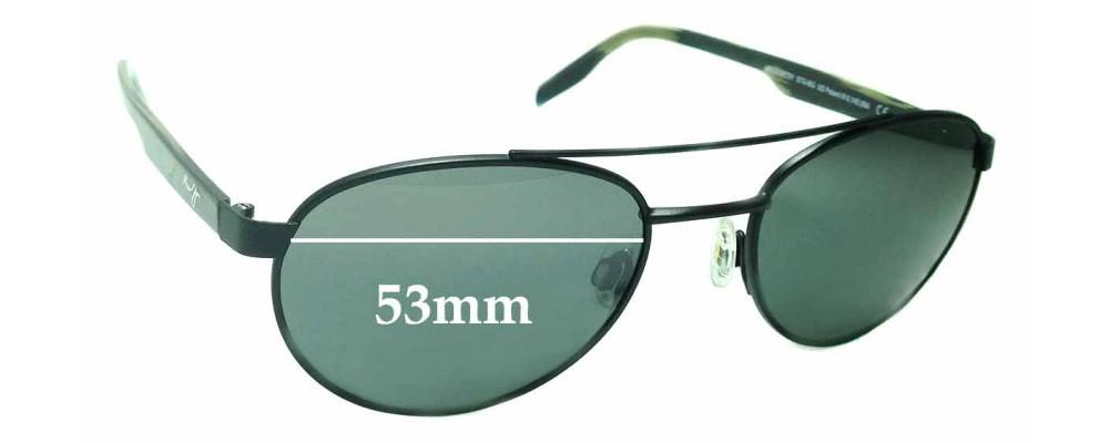Maui Jim Upcountry STG-BG MJ727 Replacement Sunglass Lenses - 53mm wide