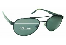 Maui Jim Upcountry STG-BG MJ727 Replacement Sunglass Lenses - 53mm wide