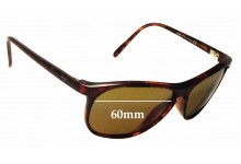 Maui Jim Voyager MJ178 Replacement Sunglass Lenses - 60mm wide