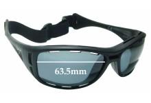 Maui Jim Waterman PC-BG MJ410 Replacement Sunglass Lenses - 63.5mm wide
