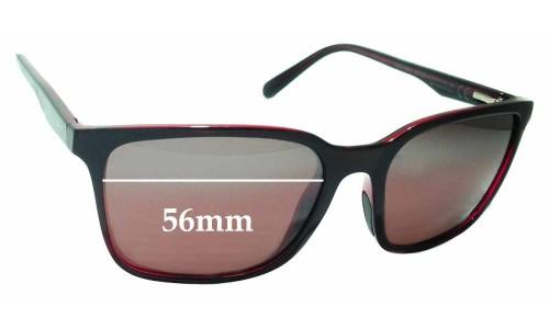 Maui Jim Wild Coast STG-BG MJ756 Replacement Sunglass Lenses - 56mm wide