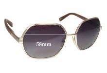 MaxMara MM-Bette 2 Replacement Sunglass Lenses - 58mm wide