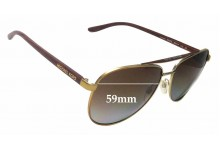 Michael Kors Hvar MK5007 Replacement Sunglass Lenses - 59mm wide