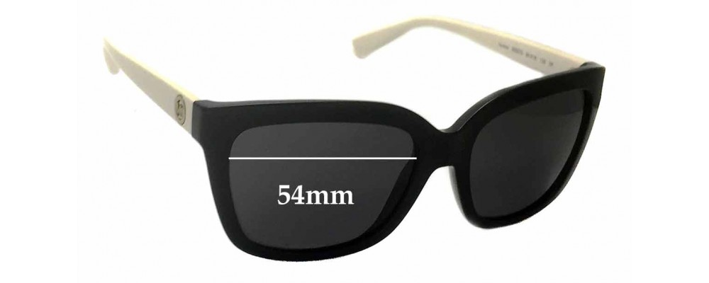 b528dcd0c2f85 Michael Kors Sandestin MK6016 Replacement Lenses - 54mm wide ...