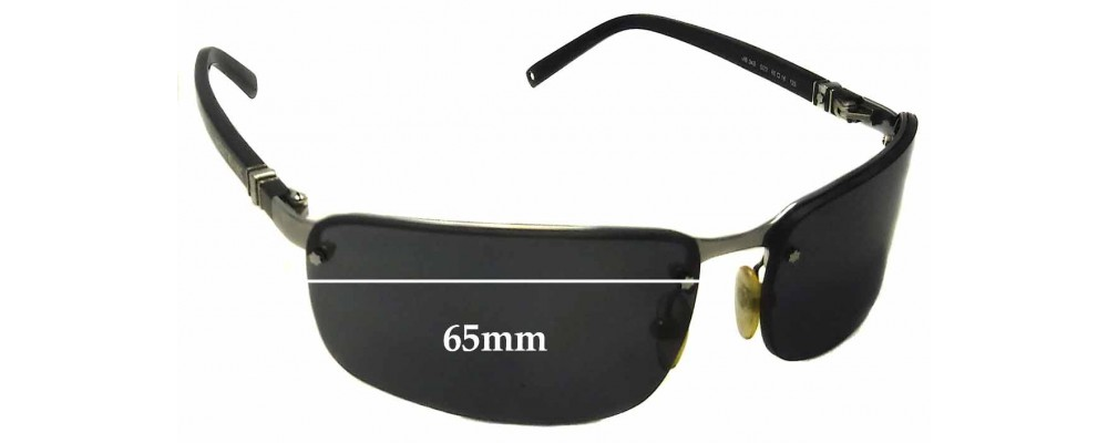 Montblanc MB 34S Replacement Sunglass Lenses 65mm wide