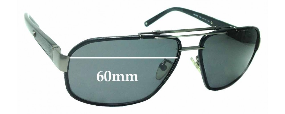 Sunglass Fix Replacement Lenses for Montblanc MB 366S - 60mm wide