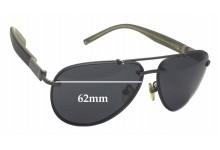 Montblanc MB 404S Replacement Sunglass Lenses - 62mm wide