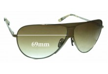 Morrissey Ace-iator Replacement Sunglass Lenses - 69mm Wide