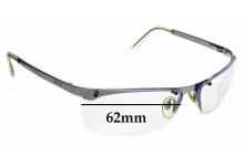 Sunglass Fix Replacement Lenses for Moschino M3155-S - 62mm wide
