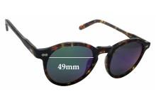Sunglass Fix New Replacement Lenses for Moscot Miltzen - 49mm Wide