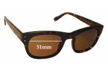 Moscot Nebb Replacement Sunglass Lenses - 51mm wide