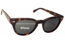 Moscot Tummel Replacement Sunglass Lenses - 49mm wide
