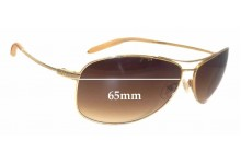 Sunglass Fix New Replacement Lenses for Mosley Tribes Unknown Model - 65mm Wide