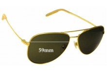 Mosley Tribes Raynes Replacement Sunglass Lenses - 59mm wide
