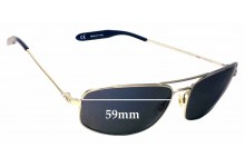 ab38f597d8 Sunglass Fix Replacement Lenses for Mosley Tribes Norte MT2026-S - 59mm wide