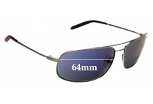 Sunglass Fix Replacement Lenses for Mosley Tribes Norte - 64mm wide