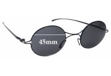 Sunglass Fix Replacement Lenses for Mykita + Maison Martin Margiela MMESSE002 - 45mm wide