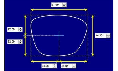 Sunglass Fix Replacement Lenses for Mormaii Venice Beat - 58mm Wide