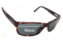 Sunglass Fix Replacement Lenses for Nautica N6175S - 58mm wide