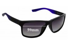 Sunglass Fix Replacement Lenses for Nike Cruiser EVO835 - 59mm wide