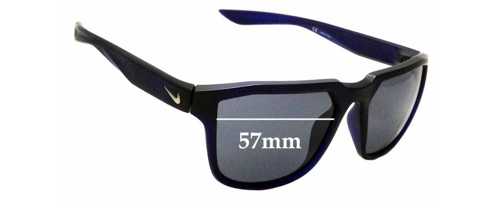 b410d62987 Sunglass Fix Replacement Lenses for Nike Fly EV0927 - 57mm wide ...