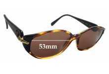 Sunglass Fix Replacement Lenses for Nina Ricci NR2460 - 53mm wide