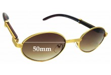 Sunglass Fix Replacement Lenses for NYS Collection Temple Court - 50mm wide