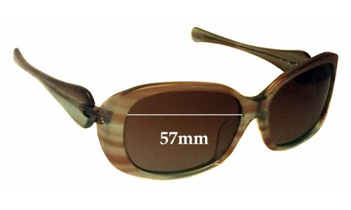 Oakley Dangerous Replacement Sunglass Lenses - 57mm Wide