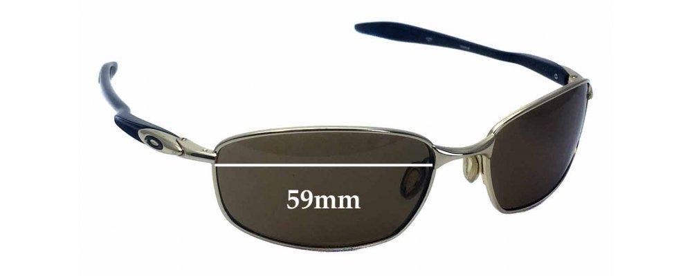 5d7a941af7b Oakley Blender OO4059 Replacement Sunglass Lenses - 59mm wide