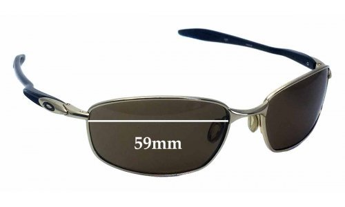 Oakley Blender OO4059 Replacement Sunglass Lenses - 59mm wide