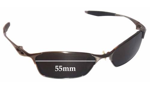 Oakley Bracket 8.1 Replacement Sunglass Lenses - 55mm wide