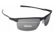 Oakley Carbon Blade OO9174 Replacement Sunglass Lenses - 66mm Wide