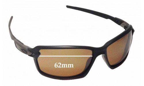 Sunglass Fix Replacement Lenses for Oakley Carbon Shift OO9302 - 62mm wide