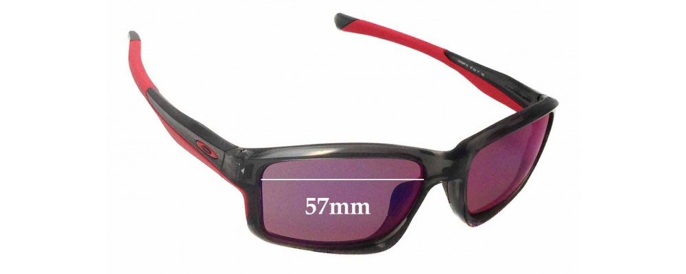 Oakley Chainlink OO9247 Replacement Sunglass Lenses - 57mm wide