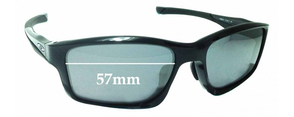 Sunglass Fix Replacement Lenses for Oakley Chainlink OO9252 - 57mm wide