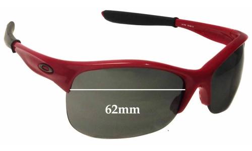 Oakley Commit AV Replacement Sunglass Lenses - 62mm Wide
