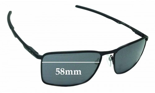 Oakley Conductor 6 OO4106 Replacement Sunglass Lenses - 58mm wide