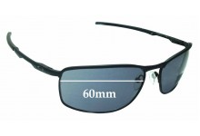 Oakley Conductor 8 OO4107 Replacement Sunglass Lenses - 60mm Wide