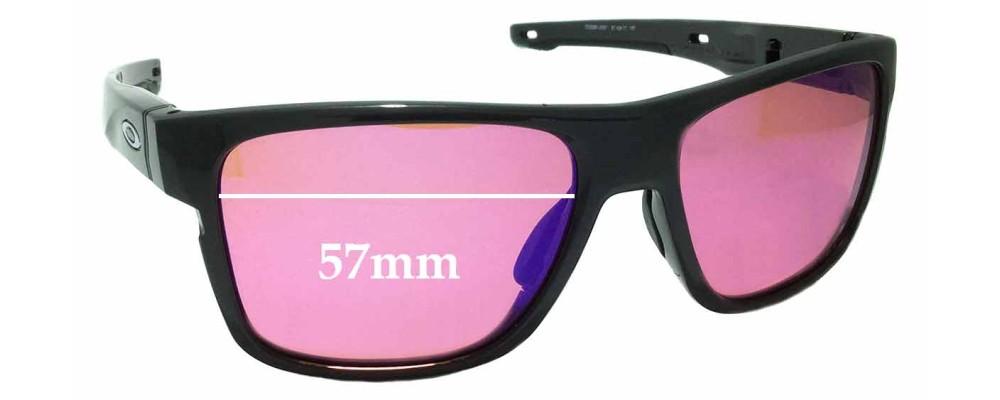 Oakley Crossrange OO9361 Replacement Sunglass Lenses - 57mm wide