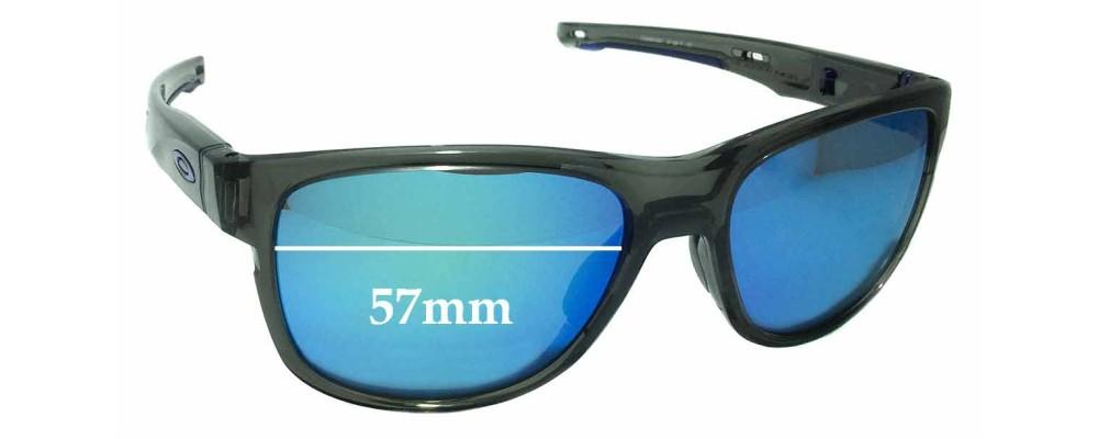 Oakley Crossrange R OO9359 Replacement Sunglass Lenses - 57mm wide