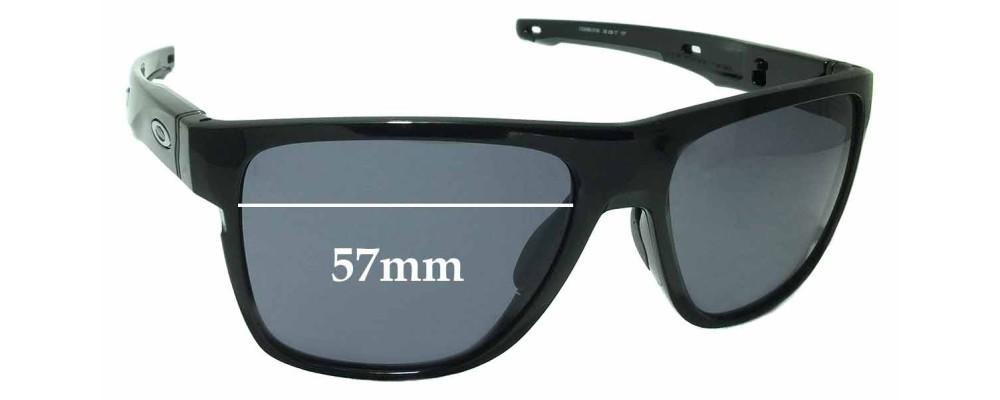 Oakley Crossrange XL OO9360 Replacement Sunglass Lenses - 57mm wide