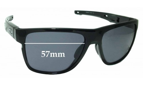 Oakley Crossrange XL OO9360 Replacement Sunglass Lenses - 57mm wide