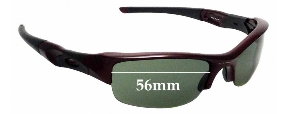 e0d305cfad Sunglass Fix Replacement Lenses for Oakley Flak Jacket - 56mm Wide ...