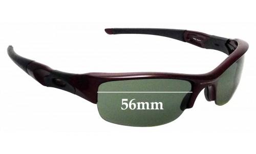 Sunglass Fix Replacement Lenses for Oakley Flak Jacket - 56mm Wide