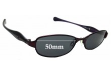 Sunglass Fix Replacement Lenses for Oakley Flawless 2.0 - 50mm wide