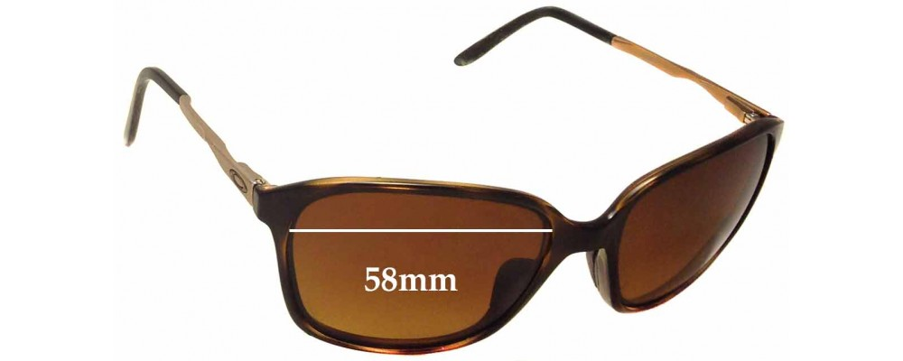 Oakley Game Changer OO9291 Replacement Sunglass Lenses - 58mm wide