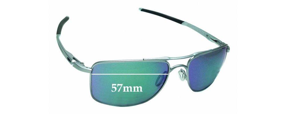 Oakley Gauge 8 >> Oakley Gauge 8 Oo4124 Replacement Lenses 57mm By The Sunglass Fix